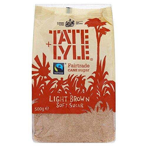 Tate And Lyle Fairtrade Licht Brauner Rohrzuckerweich (500G)