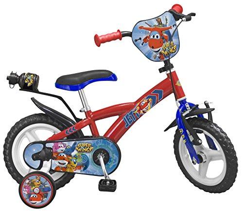 Toimsa bicicletta per bambino sotto licenza super wings 12pollice di 3a 5anni, 1241u en71