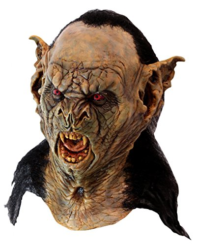 Bram Stoker's Dracula Maske als düsterer Vampir Graf Verkleidung für Halloween