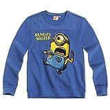 Ich Einfach Unverbesserlich - Minion Kinder Sweatshirt Shirt Gr. 116-152, Größe:116, Farbe:Blau