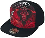 Job For A Cowboy Goat Florian Snapback Cap Black