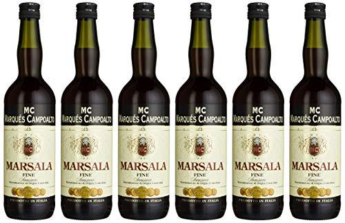Marqués Campoalto Marsala Fine Ambra Halbtrocken (6 x 0.75 l)