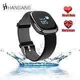 Hangang Smartwatch P2 Braccialetto intelligente Pedometro Sonno Tracker Fitness...