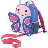 Skip Hop 212202Let Butterfly–Mochila infantil con cuerda, mariposa, multicolor
