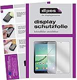 dipos I 2X Schutzfolie klar passend für Samsung Galaxy Tab S2 9,7 Zoll T819N Folie Displayschutzfolie