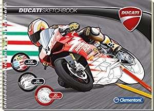 Clementoni - Sketchbook Ducati, álbum (157945)