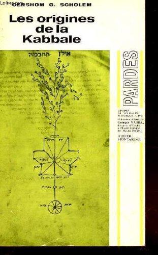 Les Origines de la Kabbale par G. Scholem