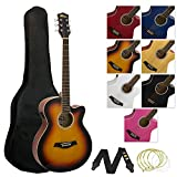 Best Starter Acoustic Guitars - Tiger Full Size Electro Acoustic Guitar Package Review