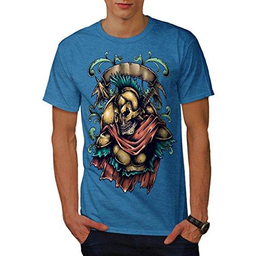 tot spartanisch Krieger Schädel Männer XXXXXL T-shirt | Wellcoda (Krieger-schädel-t-shirt)