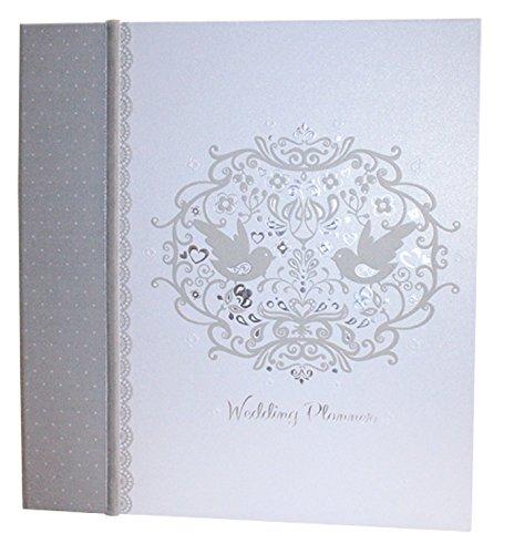 Weddings Direct-Agenda per matrimonio, motivo uccelli innamorati 2 - Calendario Giorno Planner