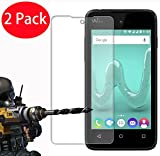2 Pack - Wiko Sunny Verre Trempé, FoneExpert® Vitre Protection Film de protecteur d'écran Glass Film Tempered Glass Screen Protector Pour Wiko Sunny