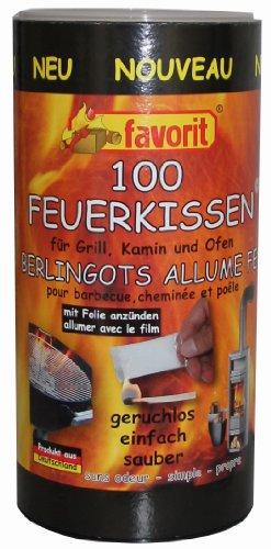 Favorit 1210 Feuerkissen 100 Er Dose Anznder Fr Grill Kamin Und Ofen