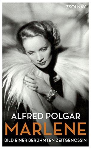 Buchseite und Rezensionen zu 'Marlene: Bild einer berühmten Zeitgenossin' von Alfred Polgar