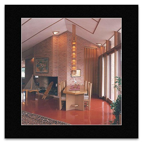Stick It On Your Wall FRANK Lloyd Wright-Dr. und Frau Paul olfelt House Minnesota 1958Mini Poster-40x 40cm
