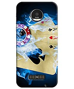 Motorola Moto Z Back Cover By FurnishFantasy