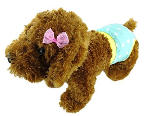 Newtensina Bequeme Hund Sanitäre Hosen Menstruation Hosen Hundewindel Unterwäsche Kleidung Haustiere Hosen für Saison - Einschließen ein rosa Haar Klammern (Klammern Kostüme)