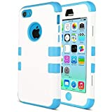 Coque iPhone 5c, ULAK iPhone 5c Case Housse de Protection Anti-choc Matériaux...