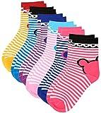 #10: Kuchipoo Unisex Cotton Socks, Set of 6 (KUC-SOC-112--4-8 years, Multi-Coloured, 4-8 years)
