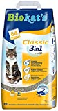 Biokat's Classic 3in1 Cat Litter / Highly Absorbent and Odour Binding Clumping Litter / 1 x 20l Bag