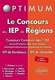 Le concours des IEP de régions