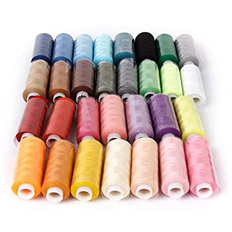 Sewing Thread Coil 30 Color 250 Yards Polyester For All Purpose
