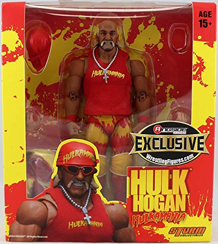 WWE Figur Hulk Hogan Elite Red Ringside Collectibles Exclusive (Hulk Wwe Hogan)