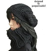 Bonnet tricoté super mignon SET