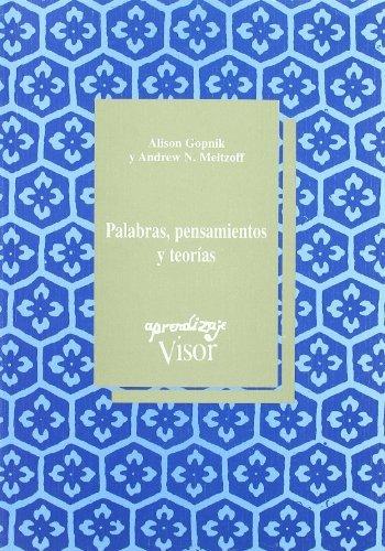 Portada del libro Palabras, Pensamientos y Teoria by Alison Gopnik (2002-08-06)
