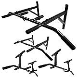 Profi Klimmzugstange für Wand- oder Deckenmontage mit rutschfesten Griffen von Trex (TX-35)