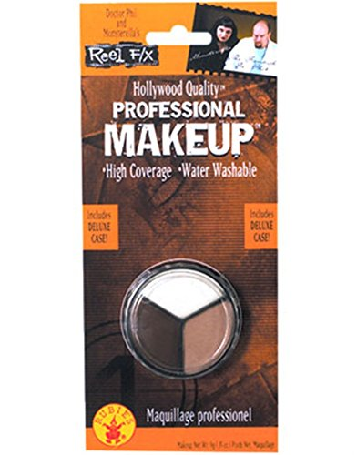 Rubie's Costume Co 3 Color Water Washable Costume Makeup White Flesh Brown