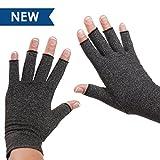 Dr. Frederick's Original Arthritis Handschuhe - Fingerlose Kompressions für die Schmerzlinderung von Rheumatoide & Osteoarthritis Arthrose - Anti arthritis kompressionshandschuhe – Frauen & Männer