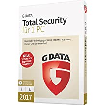 G DATA Total Security 2017 für 1 PC