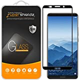[2-Pack] Supershieldz For Huawei Mate 10 Pro Tempered Glass Screen Protector, [Full Screen Coverage] Anti-Scratch, Bubble Free (Black)