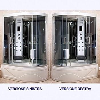 Cabina Doccia Simply 90x90.Cabina Idromassaggio 90x90 Multifunzione Con Vasca E Box Doccia