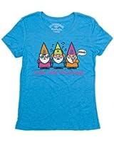 David & Goliath Gnomies Womens T-shirt