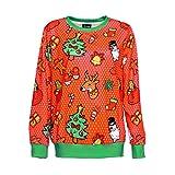 TWBB Damen Mantel,Winter Outwear Weihnachten Drucken Slim-Fit Pullover Sweatshirt Outwear