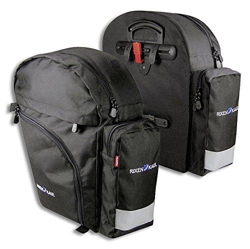 KLICKfix Fahrradtasche Backpack, schwarz, M, 0282S