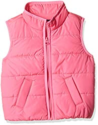 The Childrens Place Girls Jacket (20674921001_Neon Berry_5 Years)