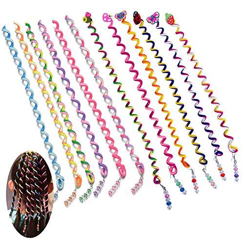 Frauen Mädchen Haar Styling Twister Clip Flechter Werkzeug DIY Zubehör mit Cartoon Kopf 12 Teile / satz (Typ 3)