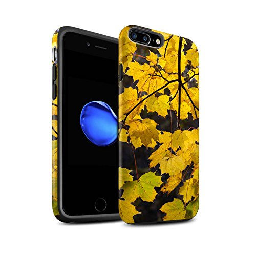 STUFF4 Matte Harten Stoßfest Hülle / Case für Apple iPhone 8 Plus / Pack 5pcs / Herbst Saison Kollektion Hängenden Ast