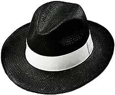 EveryHead Fiebig Sombrero De Bast Mujer Gorro Rafia Papel Paja Verano Playa  Vacaciones Equinácea Con Banda 9361093c2d1
