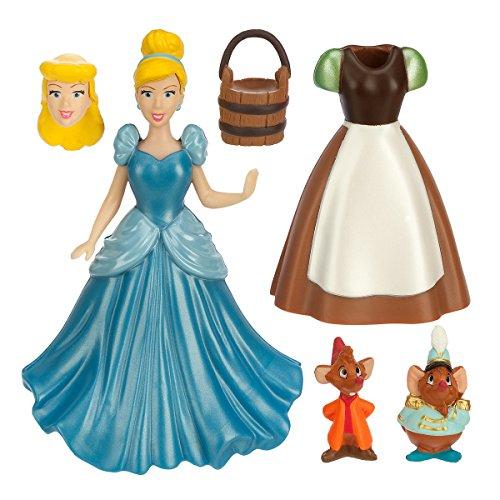 Aschenputtel Figur Fashion Set beinhaltet Kleid, Gus und Jaq Maus (Prinzessin Leia Frisuren)
