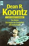 Heyne Tip des Monats, Nr.76, Die Maske/die Augen der Dunkelheit/Die Hellseherin - 3 ungekürzte Romane - Dean R. Koontz
