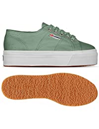 Superga 2790ACOTW LINEA UP AND DOWN GREEN MALACHITE
