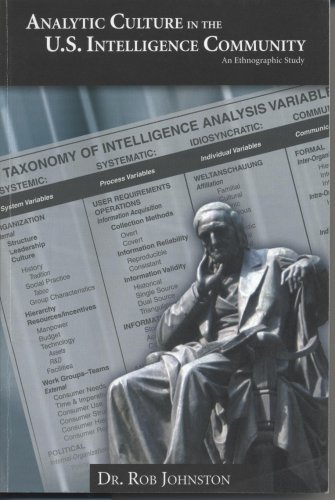 Analytic Culture in the United States Intelligence...