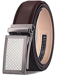 BULLIANT Hombre Cinturón-Cuero Automática Cinturón De Hombre 35MM-Tamaño  Ajuste 635e6163007