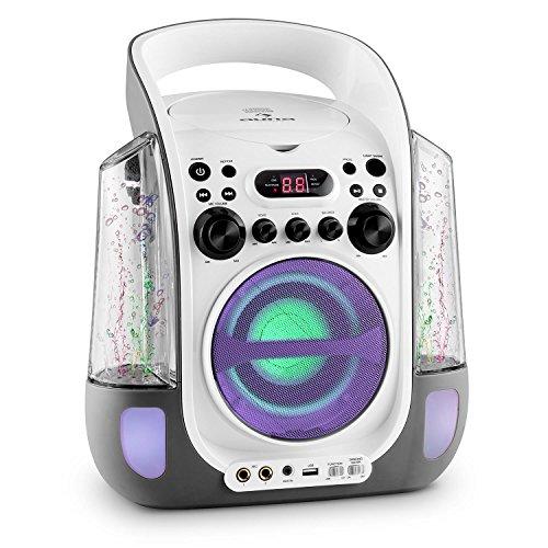Auna Kara Liquida Karaoke Player mit Wasserfontäne (weiß) - 2