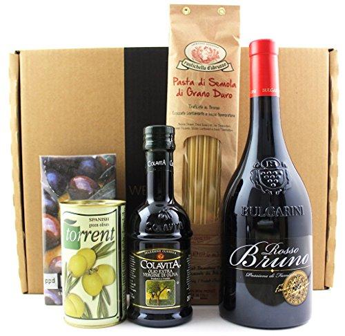 Bella Italia – Geschenkidee / Weihnachtsgeschenk / Firmenpräsent – Wein-Moment