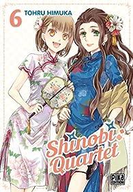 Shinobi Quartet, tome 6 par Tohru Himuka
