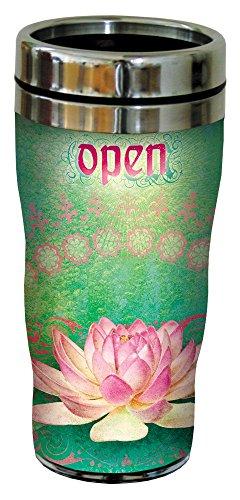 Tree Free sans 25552 16 oz Angi Silas Fleur et ouverte Sip-n-Go Mug de voyage en inox